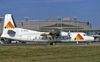 Photo: Jersey European Airways, Fokker F27 Friendship, G-JEAG