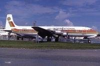Photo: Aero Club International, Douglas DC-7, N74303