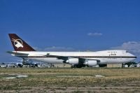 Photo: Qatar Airways, Boeing 747SR, A7-ABK