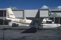 Photo: Coral Air, Britten-Norman BN-2A Islander, N59JA