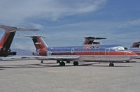 Photo: US Airways, BAC One-Eleven 200, N1123J