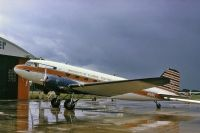 Photo: University of Florida Fighting Gators, Douglas DC-3, N166U