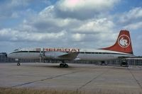 Photo: Redcoat, Bristol Britannia 200, G-BHAU
