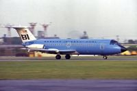 Photo: Braniff International Airlines, BAC One-Eleven 200, N1542