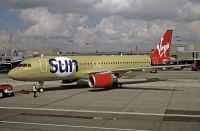 Photo: Virgin Sun, Airbus A320, G-VMED