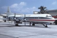 Photo: American Airlines, Lockheed L-188 Electra, N124US