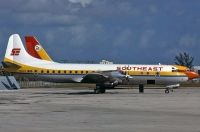 Photo: Southeast Airlines, Lockheed L-188 Electra, N23AF