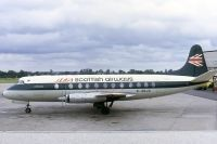 Photo: BEA Scottish Airways, Vickers Viscount 800, G-AOJC