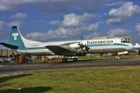 Photo: Transamerica Airlines, Lockheed L-188 Electra, N858U