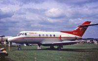 Photo: Qantas, Hawker Siddeley HS-125, VH-ECF