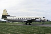 Photo: Channel Airways, Vickers Viscount 800, G-AVIW