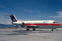 Photo: Air 21, Fokker F28, N499US
