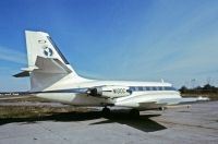 Photo: Copley Newspapers , Lockheed Jetstar, N100C