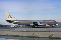 Photo: American Airlines, Boeing 747-100, N9671