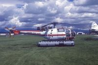 Photo: Canadian Coast Guard, Aerospatiale Alouette II, C-FCAW