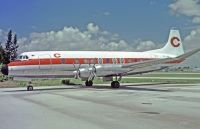 Photo: Caribbean Air, Vickers Viscount 800, VP-LAU