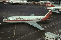 Photo: US Airways, BAC One-Eleven 200, N1128J