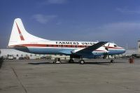 Photo: Farmers Union, Convair CV-580, N73133
