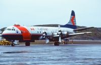 Photo: Canadian Airlines International CAIL, Lockheed L-188 Electra, C-FNAY