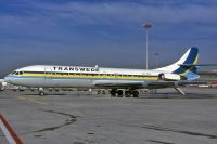 Photo: Transwede Airways, Sud Aviation SE-210 Caravelle, SE-DEH