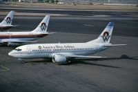 Photo: America West Airlines, Boeing 737-300, N151AW