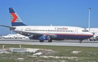 Photo: Canadian Airlines International CAIL, Boeing 737-200, C-GFPW