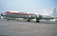 Photo: Young Cargo, Canadair CL-44, OO-ELJ