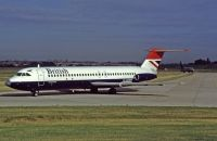 Photo: British Airways, BAC One-Eleven 500, G-AVMM