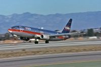 Photo: USAir, Boeing 737-400, N421US