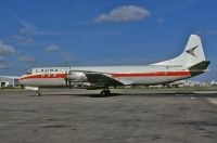 Photo: LACSA, Lockheed L-188 Electra, TI-LRM