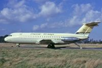Photo: Channel Airways, BAC One-Eleven 400, G-AVGP
