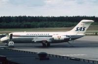 Photo: Scandinavian Aviation Academy, Douglas DC-9-21, SE-DBP