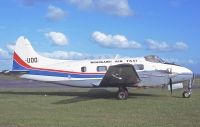 Photo: Whangarei Air Taxi, De Havilland DH-104 Dove, ZK-UDO