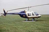 Photo: Rothmans, Bell 206 Jet Ranger, G-BBBM