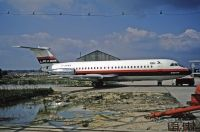Photo: Laker Airways, BAC One-Eleven 300, G-AVBX