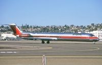 Photo: PSA - Pacific Southwest Airlines, McDonnell Douglas MD-80, N811US
