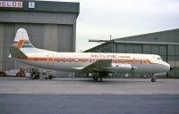 Photo: Skyline Sweden, Vickers Viscount 800, SE-FOX