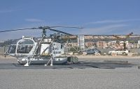 Photo: Heli Union, Aerospatiale Alouette II, F-GHIJ