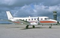 Photo: Air Leicester, Embraer EMB-110 Bandeirante, OY-ASY