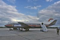 Photo: Jersey European Airways, Vickers Viscount 800, G-AVJB