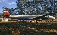 Photo: Trek Airways, Lockheed Super Constellation, ZS-DVJ