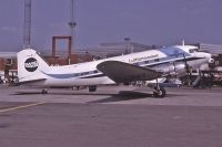 Photo: Swedair, Douglas DC-3, SE-BSM