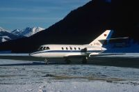 Photo: Untitled, Dassault Falcon 20, D-CELL