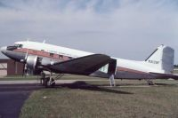 Photo: Lansing Community College, Douglas DC-3, N3139F