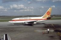 Photo: Continental Airlines, Boeing 737-100, N7388F