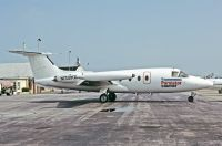 Photo: Purolator Courier, HFB Hansa Jet, N130MW