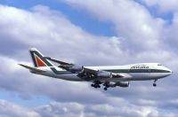 Photo: Alitalia, Boeing 747-200, I-DEMT