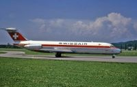 Photo: Swiss Air Lines, Douglas DC-9-30, HB-IFW