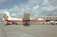 Photo: British Island Airways, Hadley Page HRP.7 Herald 214, G-BBXI
