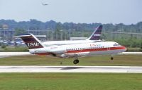 Photo: USAir, Fokker F28, N450US